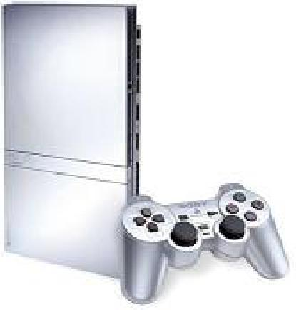 Sony PlayStation 2 Slim Console - Silver