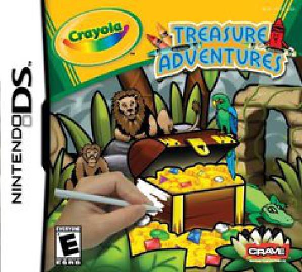 Crayola Treasure Adventures - Video Games » Nintendo » Nintendo DS ...
