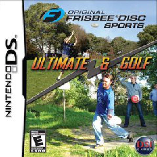 Frisbee Disc Sports - Video Games » Nintendo » Nintendo DS