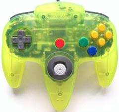 Extreme Green Controller Nintendo 64