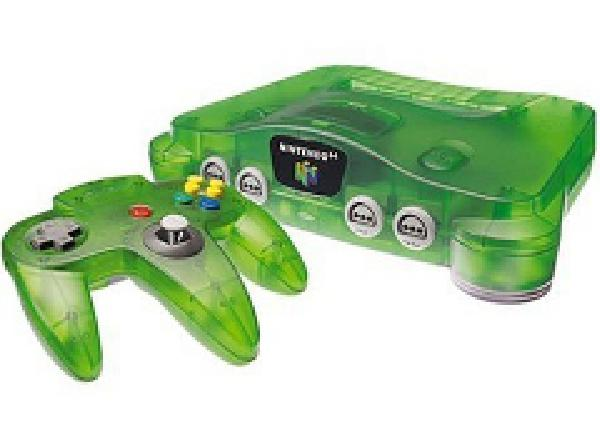 Nintendo 64 Console - Funtastic Jungle Green