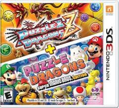 Puzzle & Dragons Z + Puzzle & Dragons - (Nintendo 3DS) - Super Mario Bros. Edition
