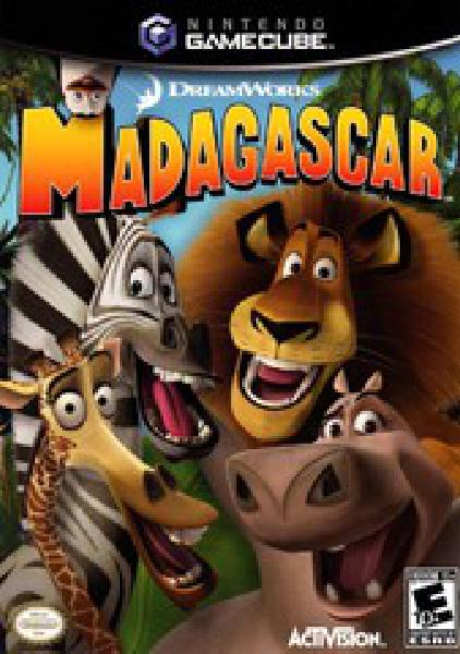 Madagascar - Video Games » Nintendo » Gamecube - UGA Games - BUY