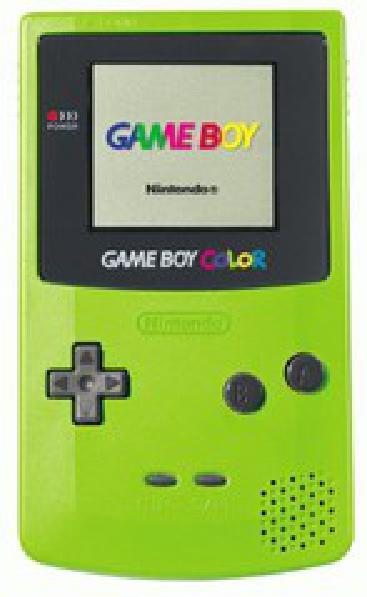 Green Game Boy Color