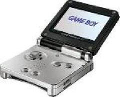 Black and Silver Gameboy Advance SP