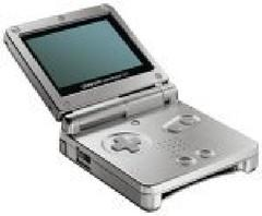 Platinum Gameboy Advance SP