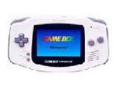 White Gameboy Advance System