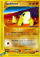 Sandshrew - 92/144 - Common on Channel Fireball