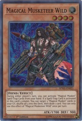 Magical Musketeer Wild - SPWA-EN021 - Super Rare - 1st Edition