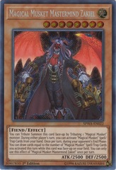 Magical Musket Mastermind Zakiel - SPWA-EN022 - Secret Rare - 1st Edition