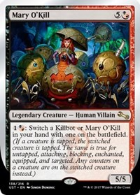 NM-Mint English Unstable MTG Magic Head of S.N.E.A.K 1x Phoebe