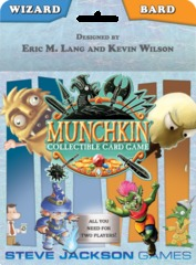 Munchkin Collectible Card Game: Wizard & Bard Starter Set
