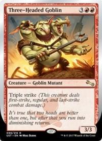 Three-Headed Goblin