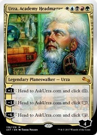 Urza, Academy Headmaster - Foil