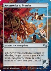 Accessories to Murder - Foil on Channel Fireball