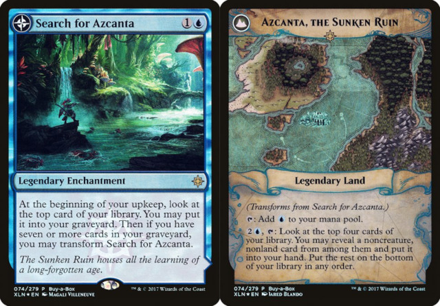 Search for Azcanta // Azcanta, the Sunken Ruin - Treasure Chest Promo