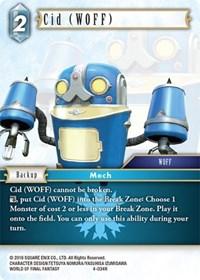 Cid (WOFF) - 4-034R - Foil