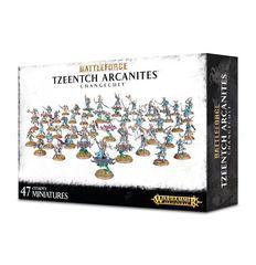 Battleforce Tzeentch Arcanites Changecult ( w71-60 )