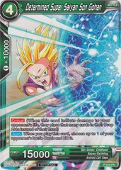 Determined Super Saiyan Son Gohan (Non-Foil Version) - P-016 - PR