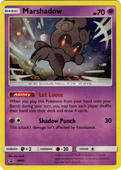 Marshadow - SM85 - SM Black Star Promo