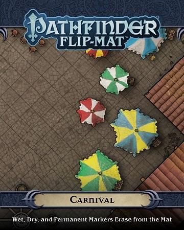 Pathfinder Flip-Mat: Carnival