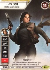 Jyn Erso - Reckless Operative (Alternate Full Art)