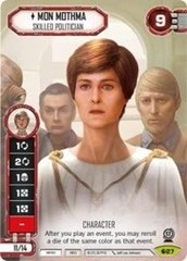 Mon Mothma - Skilled Politician (Alternative Full Art)