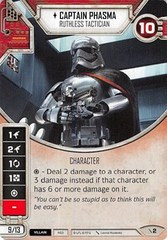 Captain Phasma - Ruthless Tactician (With Die)