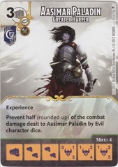 Aasimar Paladin - Greater Harper (Die and Card Combo)