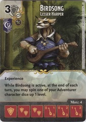 Birdsong - Lesser Harper (Die and Card Combo)