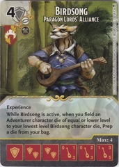 Birdsong - Paragon Lords' Alliance (Die and Card Combo)