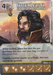 Captain Laskilar - Flamboyant Pirate Captain (Die and Card Combo)