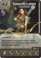 Human Outlander - Lesser Harper (Die and Card Combo)