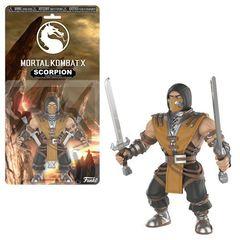 Savage World: Mortal Kombat X - Scorpion - Action Figure (Chase)