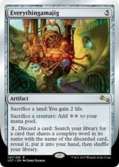 Everythingamajig (E) (1st line of Effect: Sacrifice a land: You gain 2 life.) - Foil