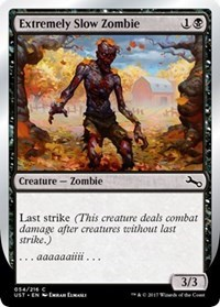 Extremely Slow Zombie (B) - Foil