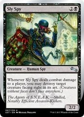 Sly Spy (D - Facing Right) - Foil