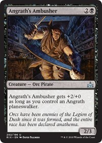 Angraths Ambusher - Planeswalker Deck Exclusive