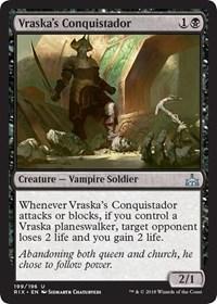 Vraskas Conquistador - Planeswalker Deck Exclusive