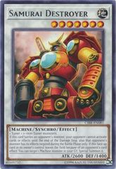 Samurai Destroyer - CIBR-EN081 - Rare - Unlimited Edition