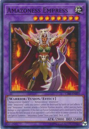 Amazoness Empress - CIBR-EN095 - Common - Unlimited Edition