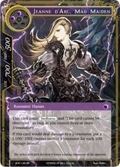 Jeanne d'Arc, Mad Maiden - ADK-135 - SR