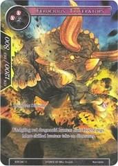 Ferocious Triceratops (Full Art) - ADK-041 - C