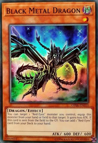 Black Metal Dragon - OP06-EN010 - Super Rare - Unlimited Edition