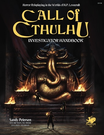 Call Of Cthulhu 7Th Edition Investigator Rulebook