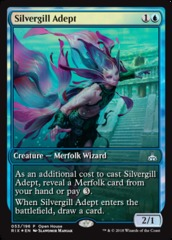 Silvergill Adept - Open House Promo FULL ART FOIL Rivals of Ixalan