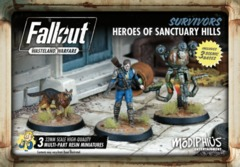 Fallout: Wasteland Warfare - Faction - Survivors, Heroes Of Sanctuary Hills Set