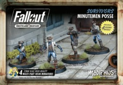 Fallout: Wasteland Warfare - Faction - Survivors, Minutemen Posse Set