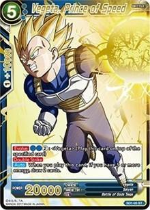 Vegeta, Prince of Speed (Non-Foil) - SD1-05 - ST