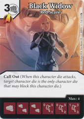 Black Widow - Red Scare (Card and Die Combo) Foil
